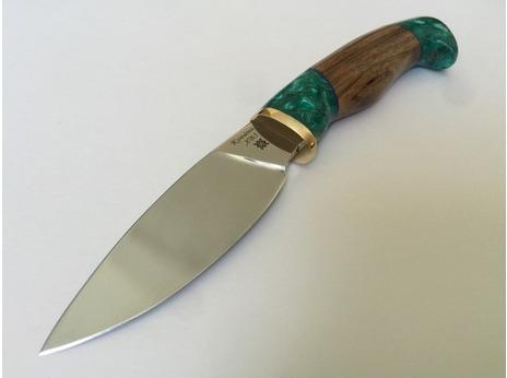 Нож Сурок 2  (сталь ХВ5, рукоять зебрано)