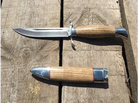 Нож Норвежский  ( Х12МФ, рукоять дуб)