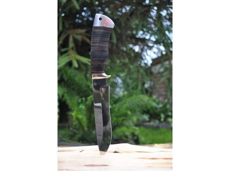 Нож Гепард (сталь 95Х18, рукоять кожа)