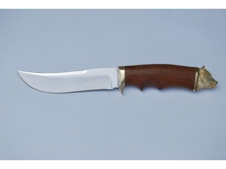 Нож Зубр (сталь 95Х18, рукоять лайсвуд)