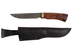 Нож Юрга  (дамаск, рукоять венге)
