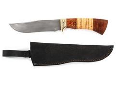 Нож Коршун (сталь Х12МФ, рукоять венге, береста)