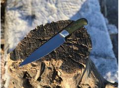 Кухонный нож №2 (сталь 95Х18, рукоять микарта)
