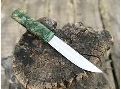Нож Якут (сталь Х12МФ, рукоять карельская береза)