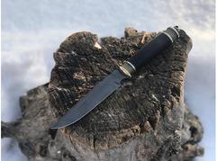 Нож Витязь (дамаск, граб)