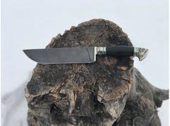 Нож Бахарман (дамасская сталь, рукоять  граб)