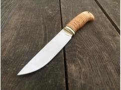 Нож Лиса (сталь Х12МФ, рукоять береста)