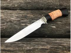 Нож Витязь (сталь 95Х18, рукоять граб, береста)