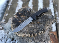Нож Гепард  (дамаск, рукоять граб)