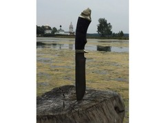 Нож Гепард (дамасская сталь, рукоять граб)