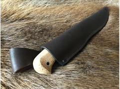 Нож Сурок  (сталь Х12МФ, рукоять карельская береза)