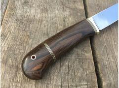Нож Сурок  (сталь Х12мф, рукоять зерикотте)