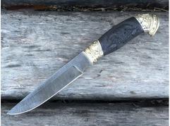 Нож Джокер (дамаск, рукоять граб)