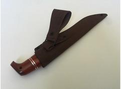 Нож Рысь (дамаск, рукоять падук)