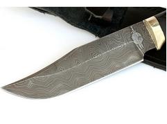 Нож Клык (дамаск, рукоять граб)