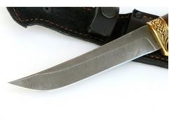 Нож Лань (дамаск, кожа, венге)