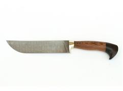 Нож Бахарман (дамасская сталь, рукоять венге, граб)
