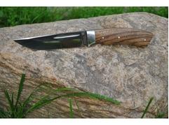 Нож Лиса (сталь Х12МФ, рукоять зебрано)